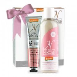 Valentýnský kosmetický balíček – Růžové oklouzlení