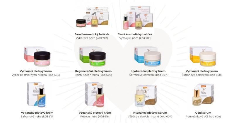 produkty dieNikolai - řada péče o pleť