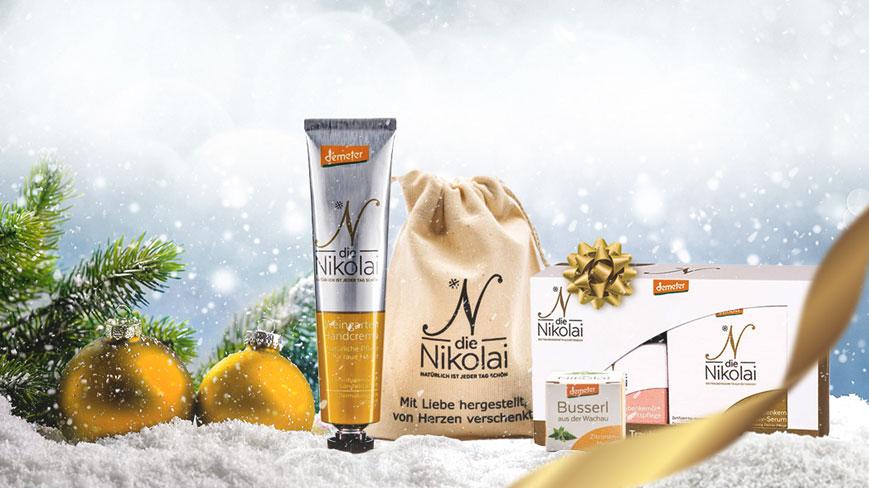 Biodynamické vánoční balíčky