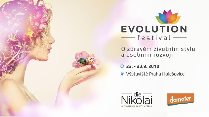 Festival Evolution s biodynamickou kosmetikou