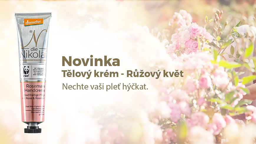 Růžový květ - biodynamická kosmetika